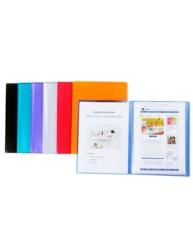 Clear Soft Cover Display Book, 20 Pocket