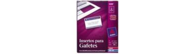 Insertos para Gafetes Avery® 5390 , 5.7 x 8.9cm, Laser/InkJet, 400PK