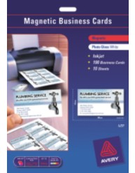 Magnetic Inkjet Business Cards