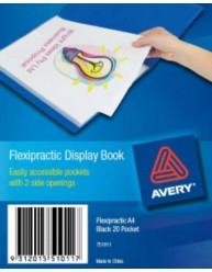 Black Flexipractic Display Book