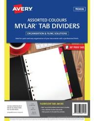Fluorescent Mylar Tab Dividers