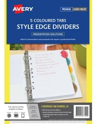 Style Edge Insertable Dividers