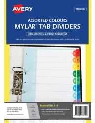 Rainbow Mylar Tab Dividers