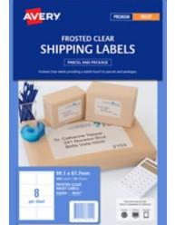 Clear Parcel Labels