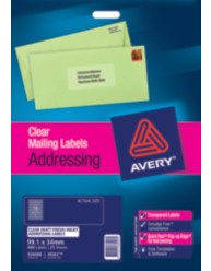 Clear Address Labels