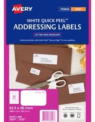 White Address Labels