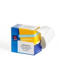 White Dispenser Labels