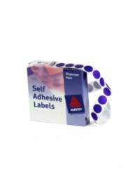 Purple Dispenser Labels