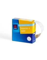 White Dispenser Labels