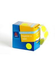 Fluoro Yellow Dispenser Labels