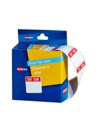 Sat / Sun Freezer Safe Dispenser Label