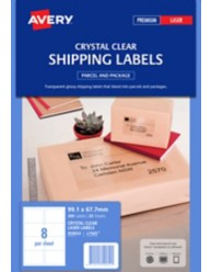 Clear Parcel Labels
