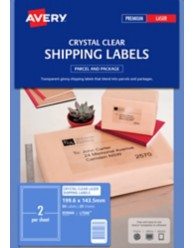 Crystal Clear Laser Labels
