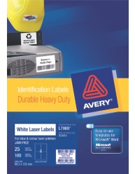 Durable Heavy Duty Labels