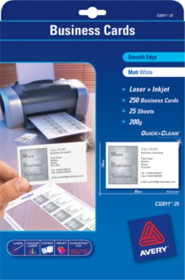 Quick Cleantrade Business Card C32011