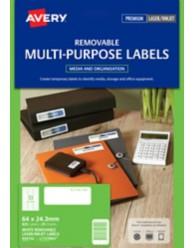 Removable Labels
