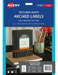 Arched Textured Labels, 57.2 x 77mm