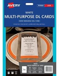 Multipurpose DL Cards, 210 x 99mm
