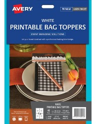Printable Bag Toppers, 48 x 137mm