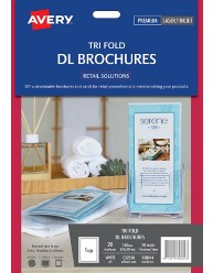 Tri Fold DL Brochures; 20/pack