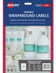 Printable Durable Wraparound Labels on pump handwash bottle, L7146