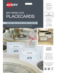 Printable Folded PlaceCards 982503, C32073