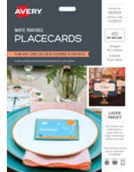 Printable Placecards 982504, C32072