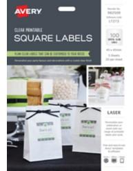 Printable Square Lables 982509,  L7273
