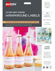 Printable Wraparound Labels, 982520, L7285