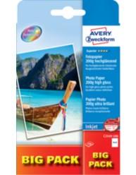Carta fotografica Superior per stampanti Inkjet, ultra lucida, 10x15, 200g