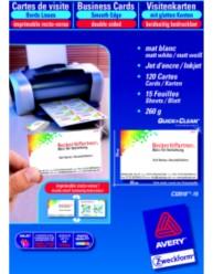 Cartes de visite Quick&Clean™