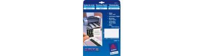Biglietti da visita tela di lino Quick&Clean™ - stampanti Inkjet