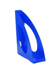 Blue Magazine Rack