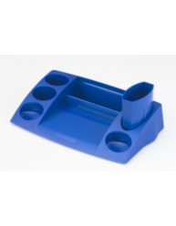 Blue Desk Tidy