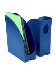 Porte-revues - dos de 105 mm - Bleu