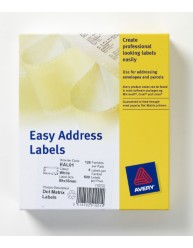 Dot Matrix Labels