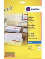 Etichette per indirizzi - per stampanti Inkjet