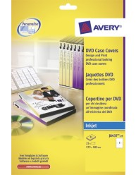 DVD Case Inserts Inkjet Card