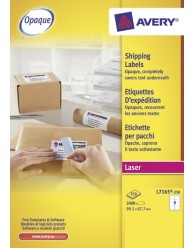 BlockOut Shipping Labels 250 Sheets