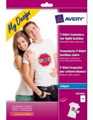 Tekstil transfers, til lyse tekstiler