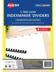 Unpunched IndexMaker Dividers
