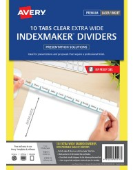 IndexMaker Extra Wide Dividers