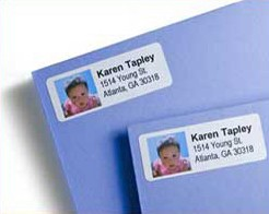 Create Photo Return Address Labels