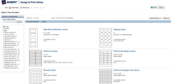 How to Find a Template in Avery Design u0026 Print Online