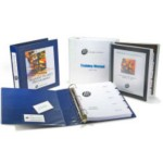 Training Manuals and Presentation Binders