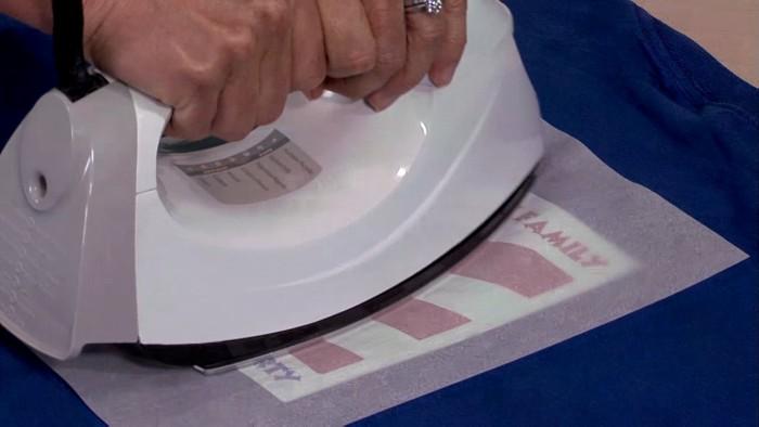 avery transfer paper instructions heat press