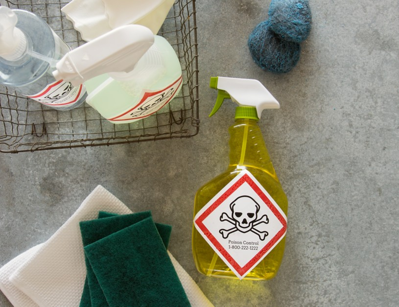 Create custom chemical labels with Avery UltraDuty GHS Chemical Labels