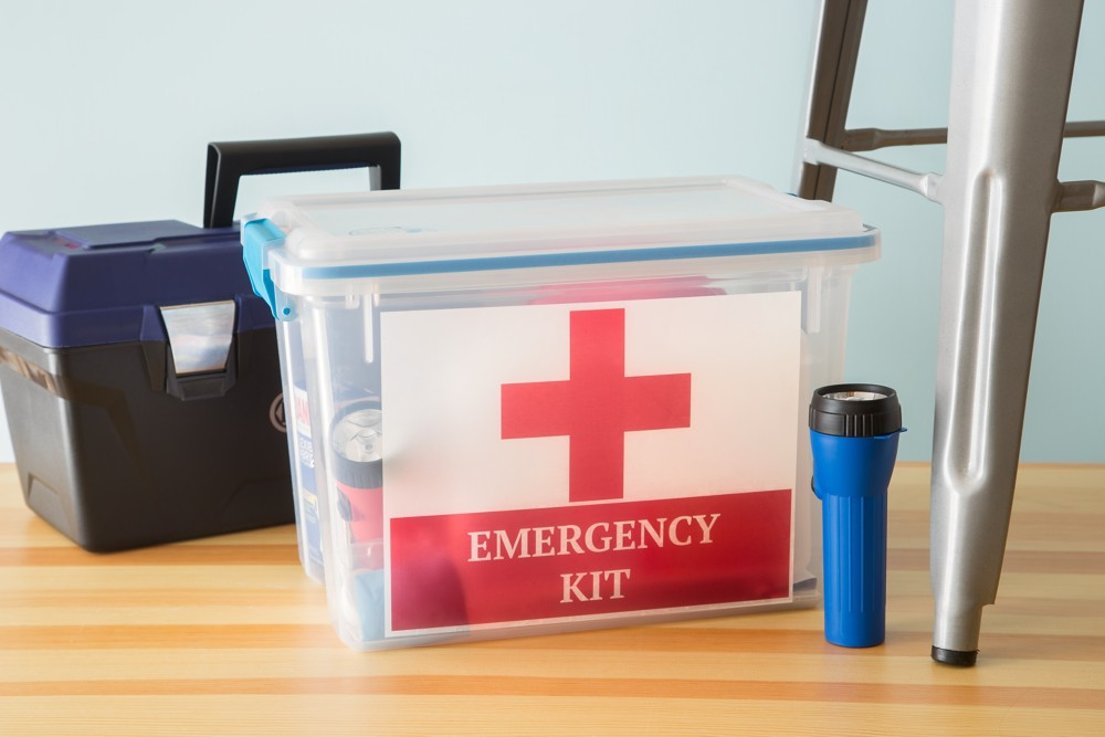 An emergency kit is something you don't want to be without, but hope you never have to use.