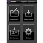 How to Open a Saved a Project in the Avery Templates Everywhere App