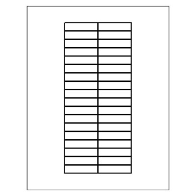 Free Avery® Template for Microsoft® Word, Big Tab Insertable